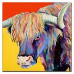 14 in. x 14 in. Scotty Canvas Art