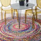 Tammara Multi 8 ft. x 8 ft. Round Area Rug