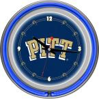 14 in. University of Pittsburgh Neon Wall Clock