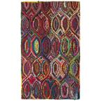 Layla Multi 5 ft. x 7 ft. 9 in. Chindi Indoor Area Rug