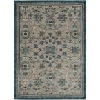 Amelie Gray 7 ft. 8 in. x 10 ft. 3 in. Area Rug