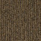 Central Park Brown 19.7 in. x 19.7 in. Carpet Tile (20 PC/Case - 54 Sq. Ft./Case)