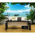 144 in. W x 100 in. H Phi Phi Island Wall Mural