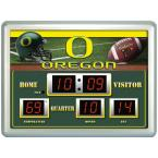 University of Oregon 14 in. x 19 in. Scoreboard Clock with Temperature