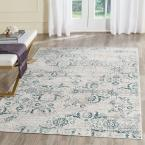 Artifact Blue/Cream 8 ft. x 10 ft. Area Rug