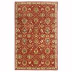 Kent Red 5 ft. x 8 ft. Area Rug
