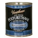 1 qt. Clear Gloss Water-Based Interior Polyurethane (Case of 2)