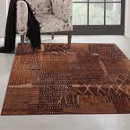 Sonoma Natoma Rust 7 ft. 10 in. x 11 ft. 2 in. Area Rug