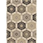 Capped Off Multi 5 ft. 3 in. x 7 ft. 6 in. Indoor Area Rug