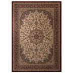 Classical Manor Blue 6 ft. 6 in. x 9 ft. 6 in. Area Rug