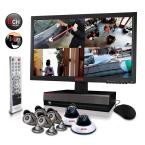8-Channel 2TB DVR4 Surveillance System with 21.5 in. Monitor and (6) 600 TVL 80 ft. Night Vision Cameras