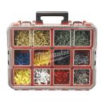 10-Compartment Deep Pro Organizer, Red