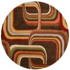 Michael Brown 6 ft. Round Area Rug