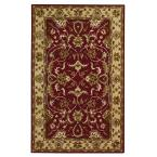 Constantine Burgundy 9 ft. x 13 ft. Area Rug