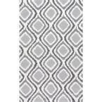 Matthieu Grey 7 ft. 6 in. x 9 ft. 6 in. Area Rug