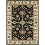 Fairfield Lifestyle Collection Black/Ivory 5 ft. x 7 ft. 6 in. Area Rug