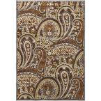 Antigno Chocolate 2 ft. 2 in. x 3 ft. Indoor Area Rug