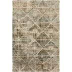 Alayta Chocolate 8 ft. x 11 ft. Indoor Area Rug