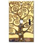Klimt: The Tree of Life - Phone Jack Wall Plate