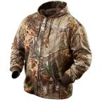 Large M12 Cordless Lithium-Ion Realtree Xtra Camo Heated Hoodie (Hoodie Only)