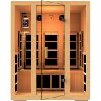 JNH Lifestyles Joyous 2-Person Far Infrared Sauna-MG215HB - The Home Depot