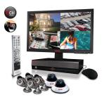 8-Channel 1TB DVR4 Surveillance System with 18.5 in. Monitor and (6) 600 TVL 80 ft. Night Vision Cameras
