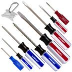 9-Piece Phillips and Slotted Screwdriver Set