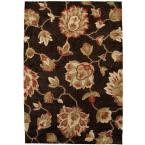 Como Black 5 ft. 3 in. x 7 ft. 6 in. Area Rug