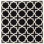 Chatham Black/Ivory 7 ft. x 7 ft. Square Area Rug