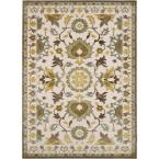 Catalina Cream 5 ft. 2 in. x 7 ft. 3 in. Area Rug