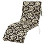 Arvin Tuxedo Outdoor Chaise Lounge Cushion