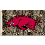 NCAA 3 ft. x 5 ft. Arkansas Flag - Realtree Camo Background