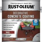 1 gal. Red Brick Decorative Concrete Coating (2-Pack)