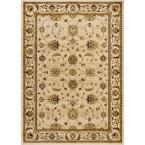 Dynasty Beige 7 ft. 9 in. x 10 ft. 2 in. Area Rug