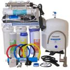 LittleWell 100 GPD 6-Stage Reverse Osmosis with Booster Pump, 11-Watt UV with Flow Sensor Switch and Clear Housing