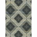 Royalty Taupe/Gray 7 ft. 8 in. x 10 ft. 4 in. Indoor Area Rug
