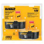 18-Volt XRP Ni-Cd Rechargeable Batteries for DEWALT 18-Volt Power Tools (2-Pack)