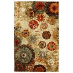 Caravan Medallion Multi 8 ft. x 10 ft. Area Rug