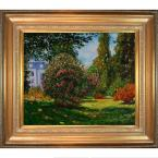 20 in. x 24 in. Il Parco Monceau Hand-Painted Vintage Artwork