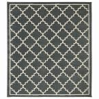 Winslow Dark Slate 8 ft. x 8 ft. Square Area Rug
