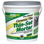 1 Gal. Premixed Ceramic Tile Thin-Set Mortar