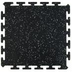 Multy Home Black 16.5 in. x 16.5 in. Activity Floor