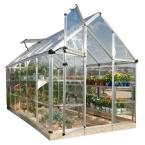 12 ft. 3-1/4 in. x 6 ft. 2-3/4 in. Polycarbonate Greenhouse