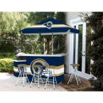 St Louis Rams All-Weather Patio Bar Set with 6 ft. Umbrella