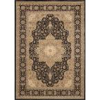 Majestic Black 3 ft. 11 in. x 5 ft. 2 in. Area Rug