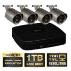 Premium Series 8-Channel 960H 1TB Video Surveillance System (4) Hi-Res 700 TVL Cameras 100 ft. Night Vision-DISCONTINUED