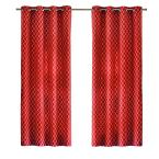 Chili Ogee Grommet Curtain