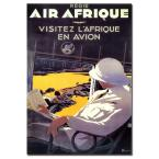 16 in. x 24 in. Air Afrique Canvas Art