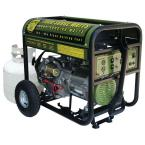 6,000 Continuous Running Watts Portable Propane Generator with Electric Start