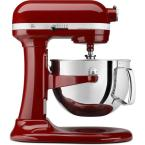 Professional 600 Series 6 qt. Bowl Lift Stand Mixer with Pouring Shield in Gloss Cinnamon